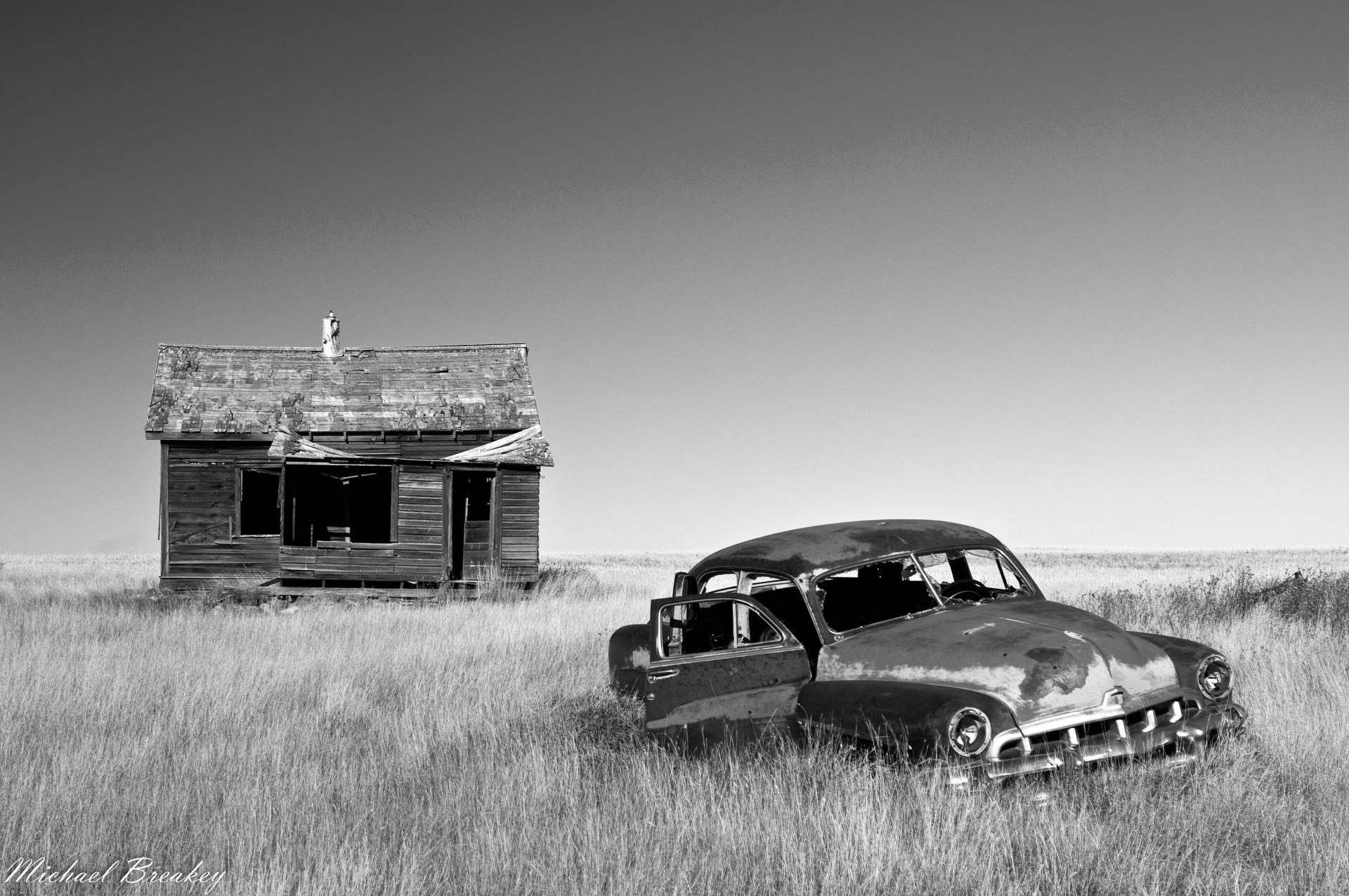 Abandonned homestead